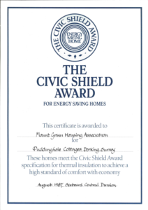 1987 Civic Shield Award